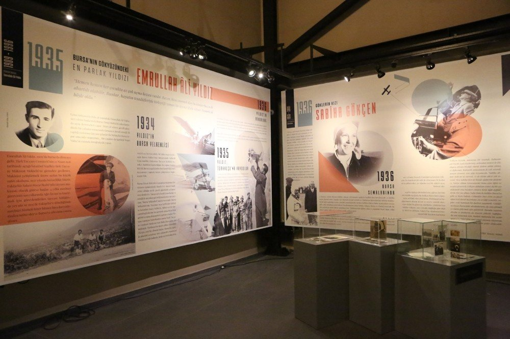 Bursa havacılık tarihi bu sergide hayat buldu