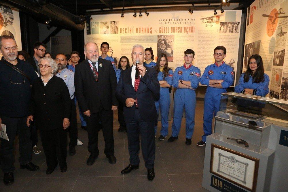 Bursa havacılık tarihi bu sergide
