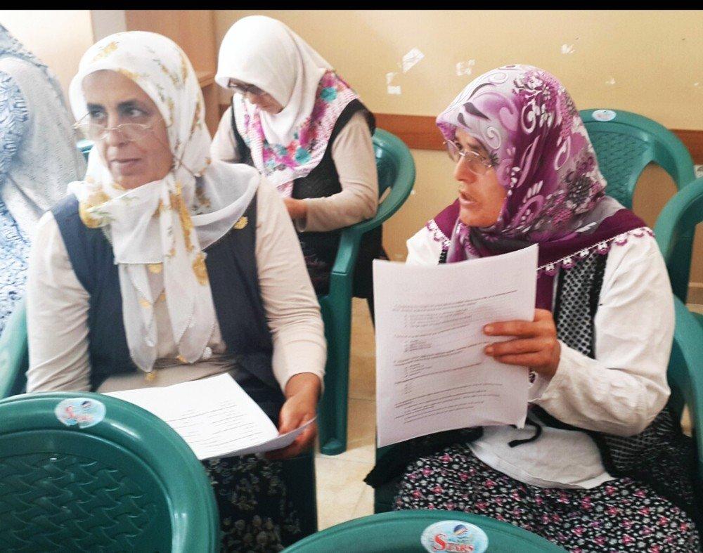 Seydikemer'li Kadın Çiftçilere Eğitim Sertifikası