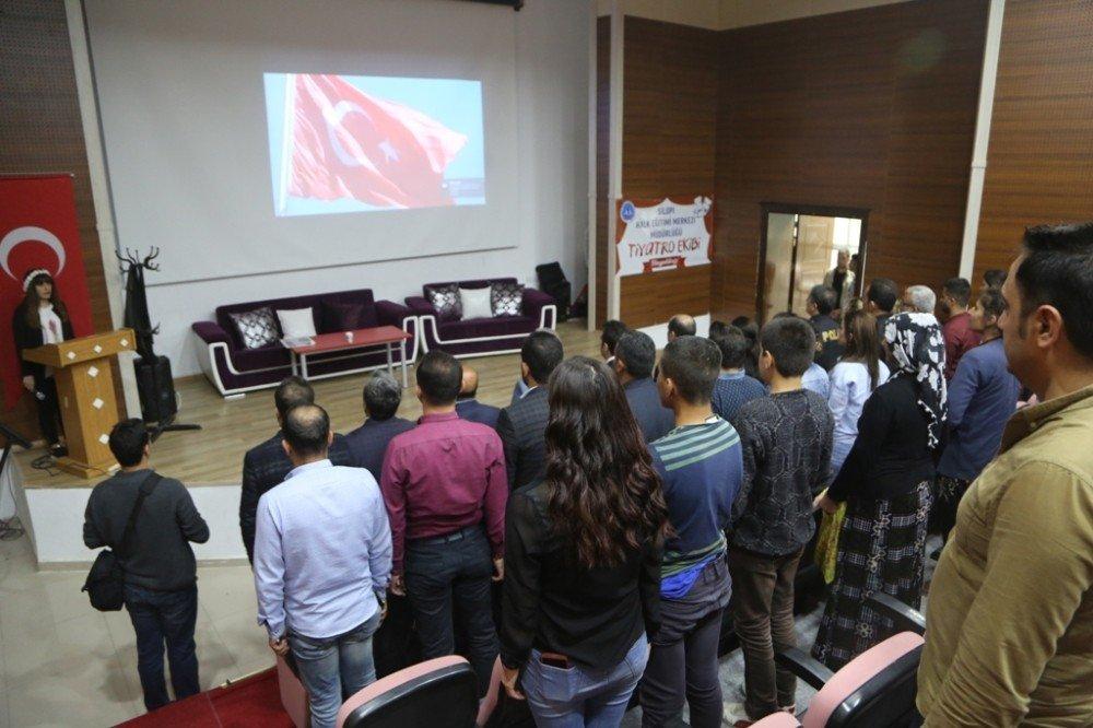 Silopi'de Engelliler Haftası etkinliği