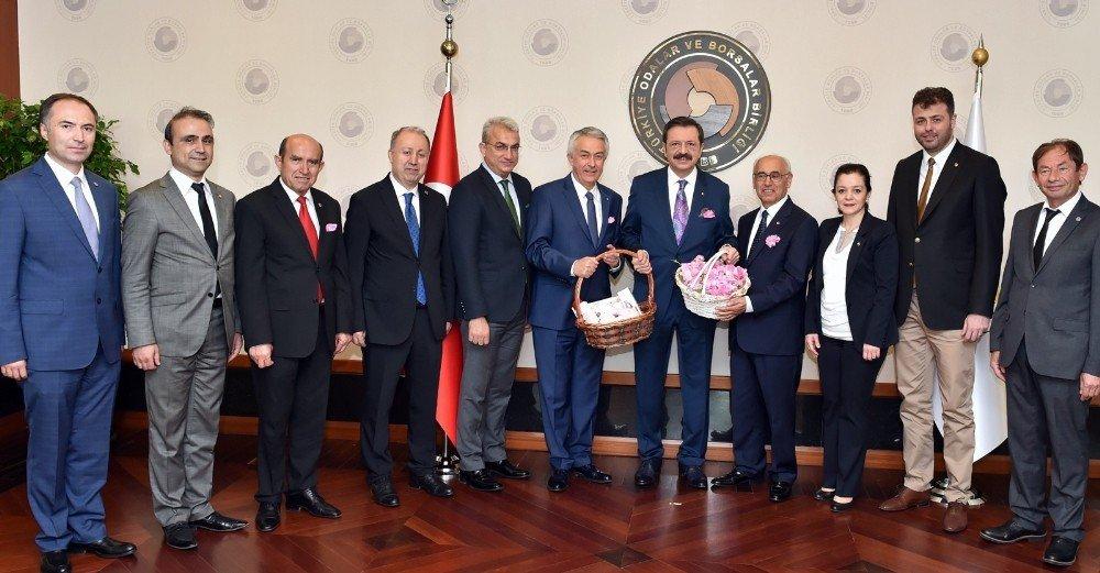 ITSO heyeti Ankara'da