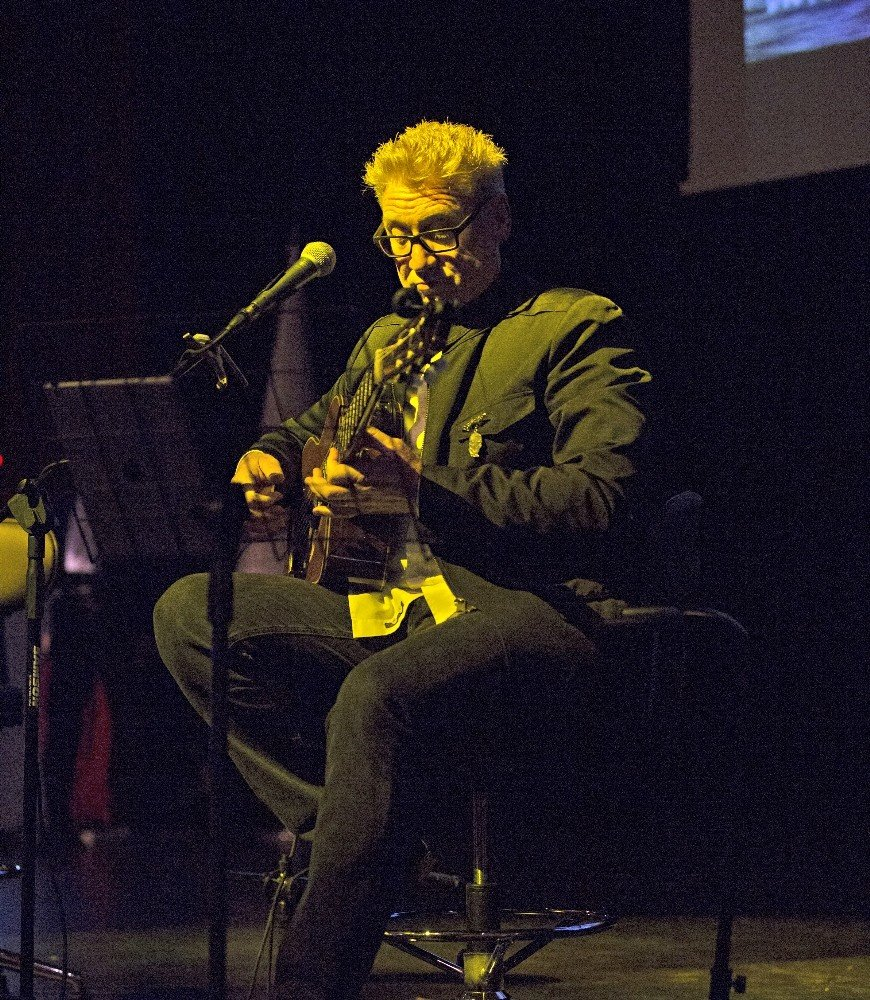 İskoç Müzisyen Paul Dwyer, Rektör Çomaklı'yı ziyaret etti