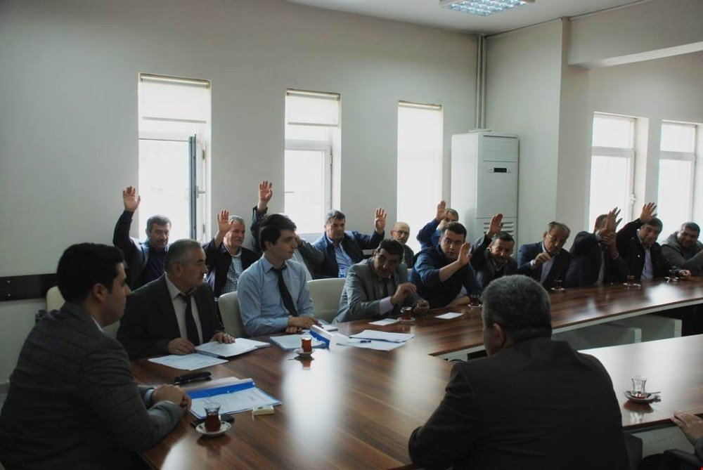 Yenice KHGB'nin meclis toplantısı yapıldı