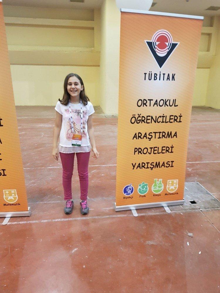 TÜBİTAK 4006'da Türkiye 1.'si Kdz. Ereğli Cumhuriyet Ortaokulu
