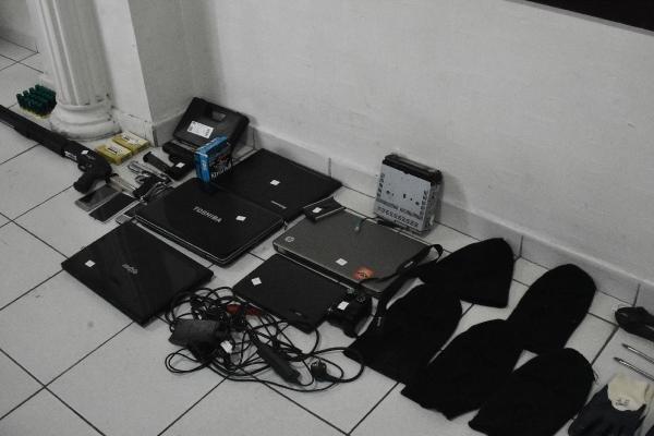 Okullardan hırsızlığa 5 gözaltı