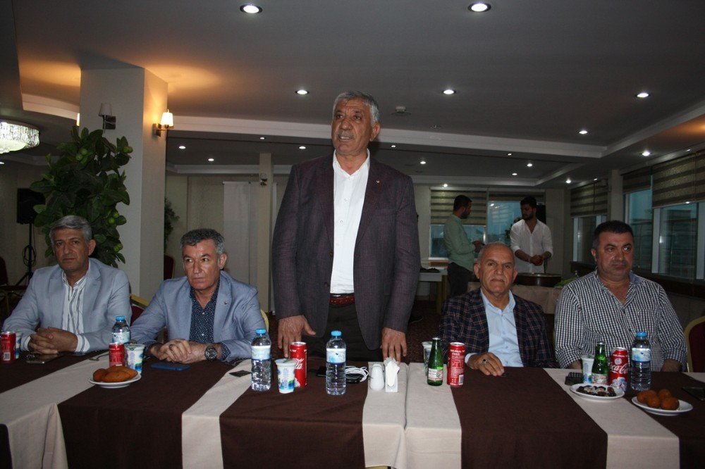 ATSO meclis üyeleri iftar yemeğinde bir araya geldi