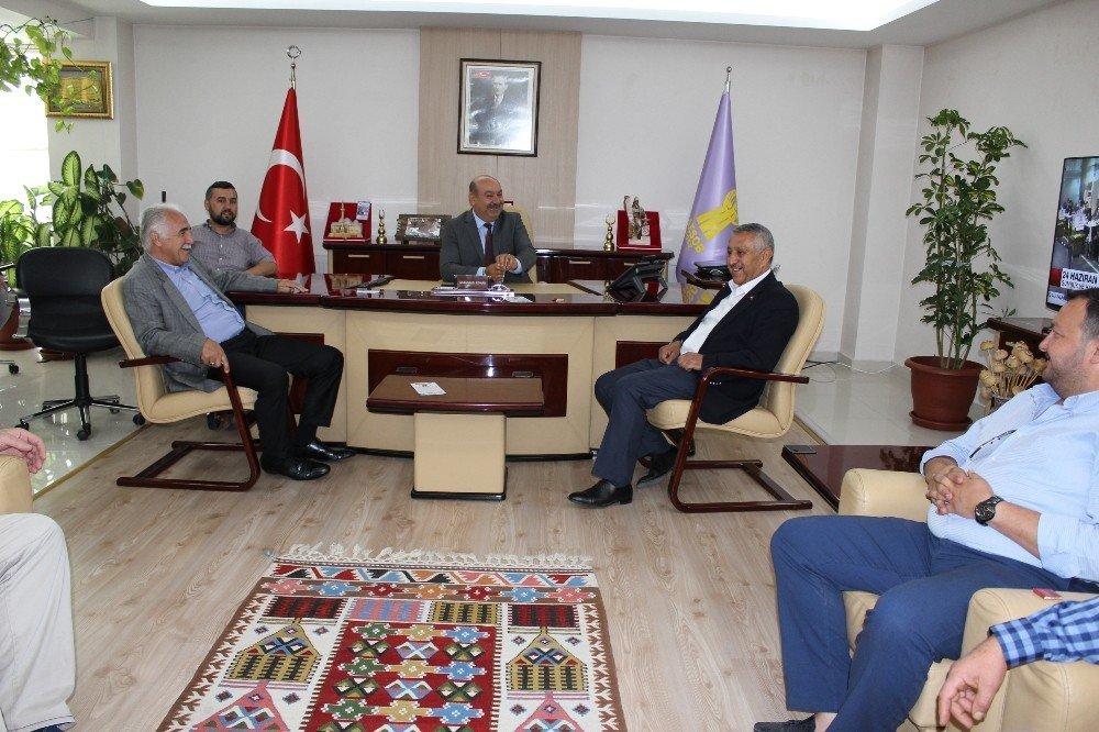 AK Parti adayı Zeybek'ten ESOB'a ziyaret