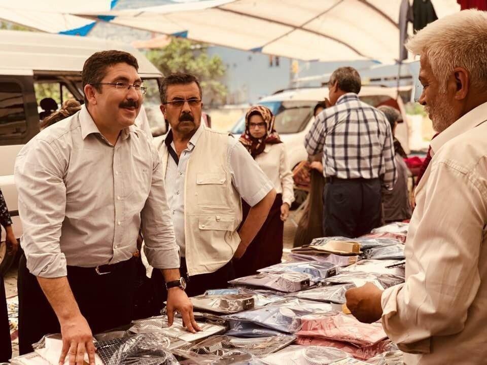 Oymak, Çardak'da vatandaşlar ile bir araya geldi