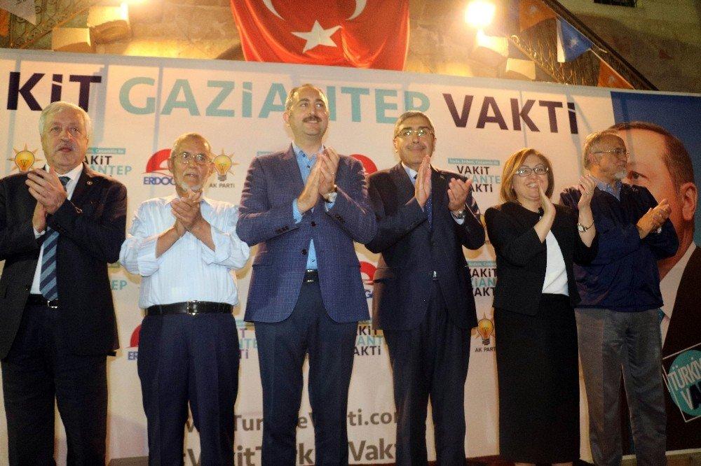 """Adalet Bakanı Gül: """"24 Haziran seçimleri Türkiye'nin kader seçimidir"""""""