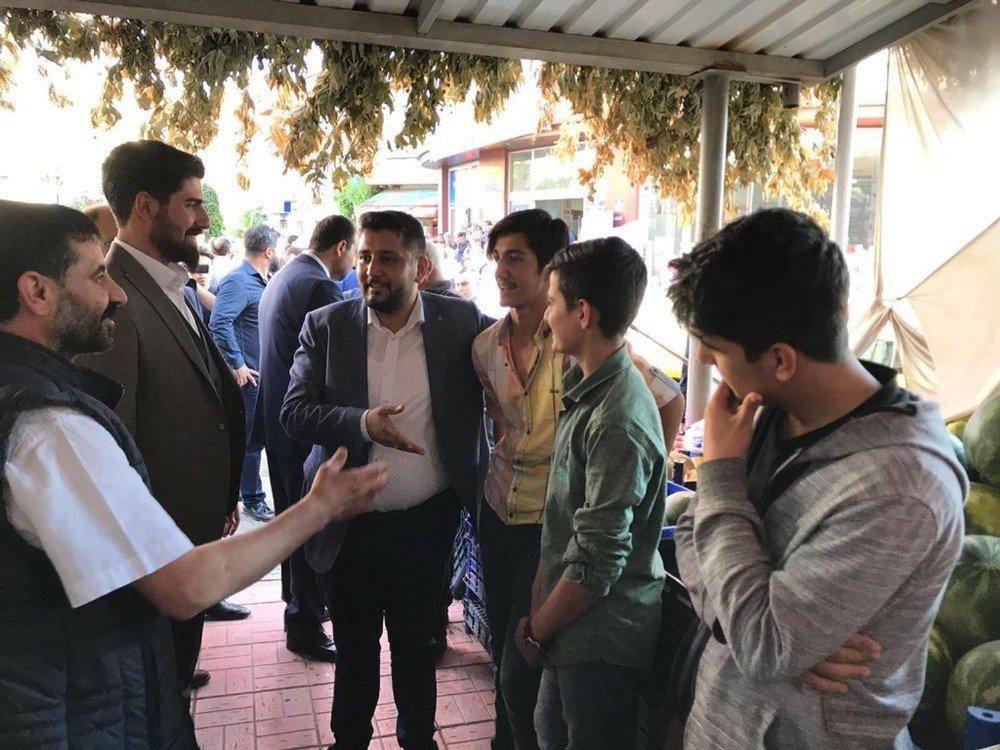 Malatya'dan AK adaylara tam destek