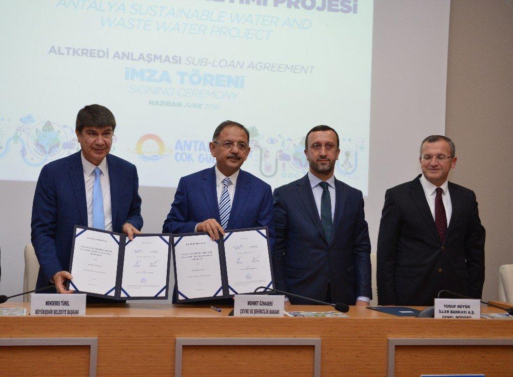 58 milyon Euro'luk kredi anlaşması