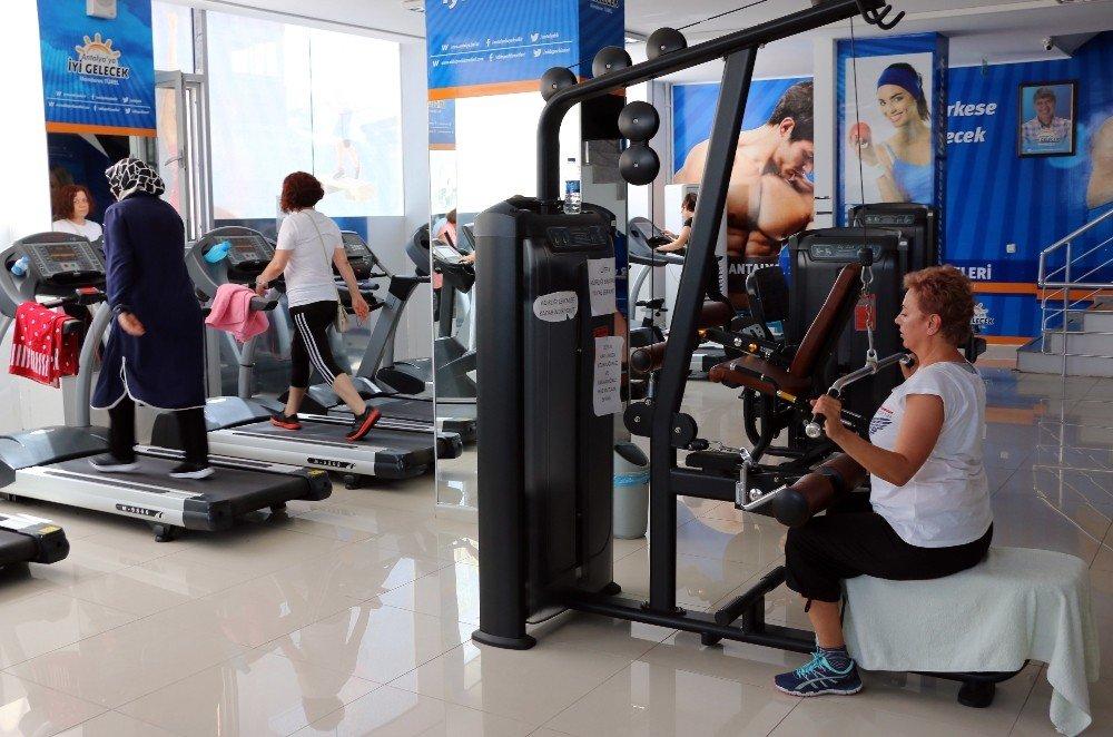 ASFİM'de sağlık için spor