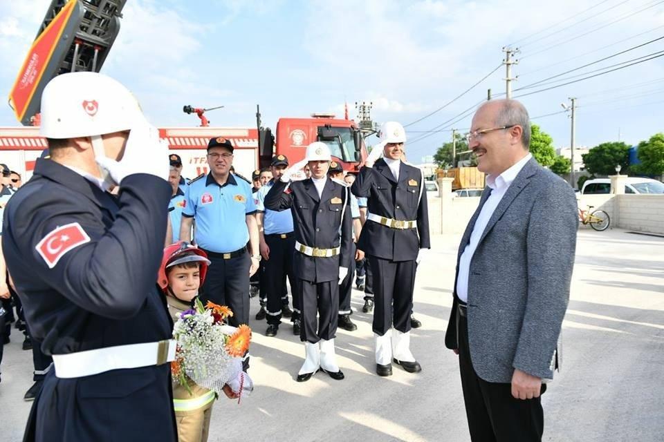 Büyükşehir'den Susurluk'a yeni itfaiye merkezi
