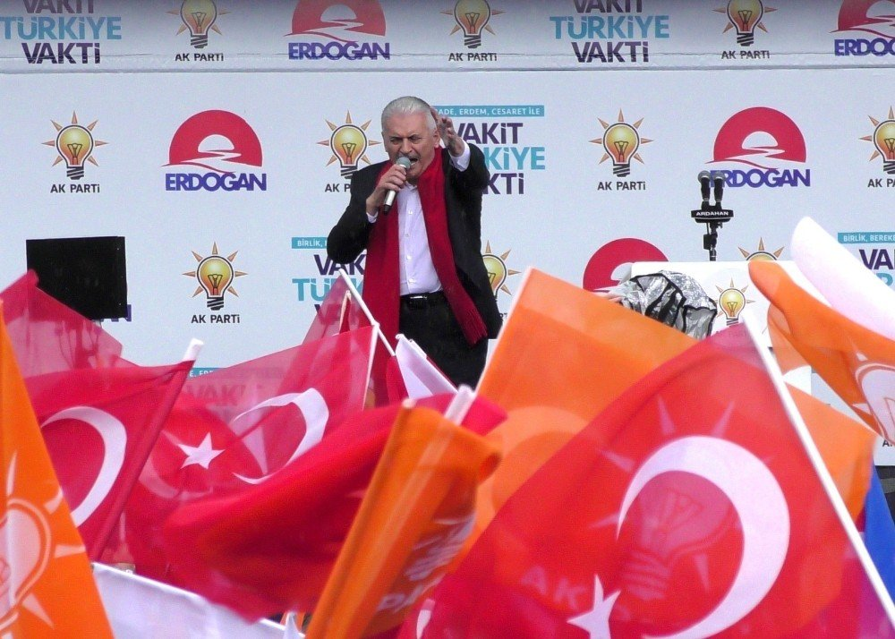 """Başbakan Yıldırım: """"Türkiye'yi dünyanın en güçlü ülkelerine arasına mutlaka sokacağız"""""""