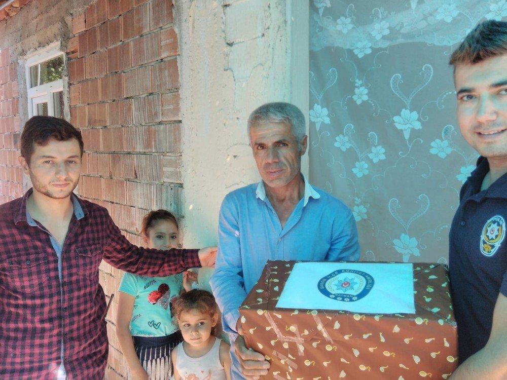 Sason Emniyetinden Ramazan yardım