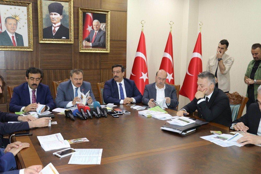 Orman ve Su işleri Bakanı Eroğlu Diyarbakır'da