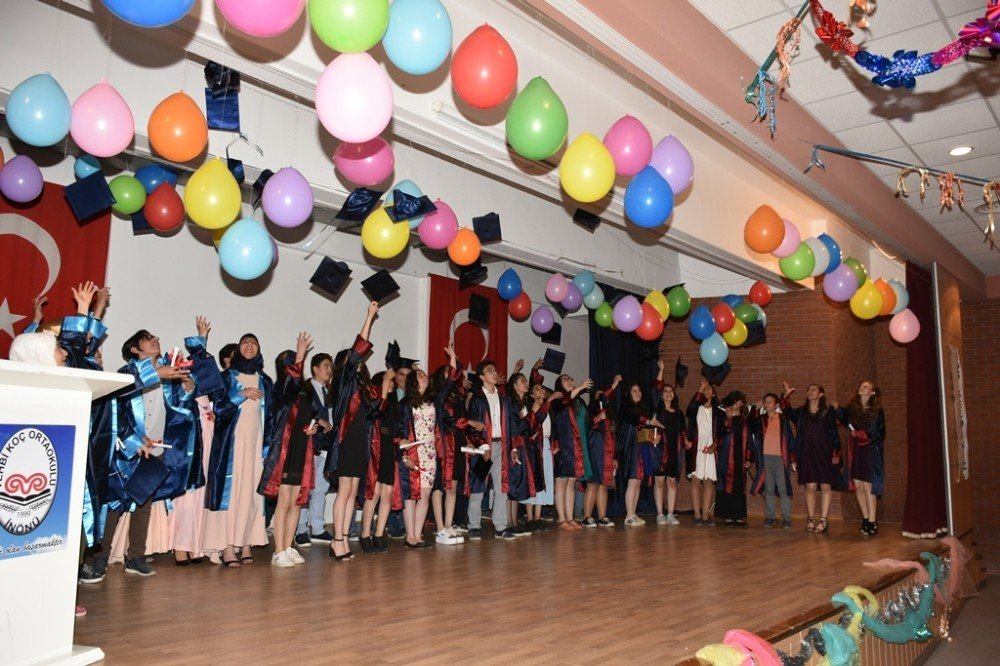 İnönü'de mezuniyet töreni
