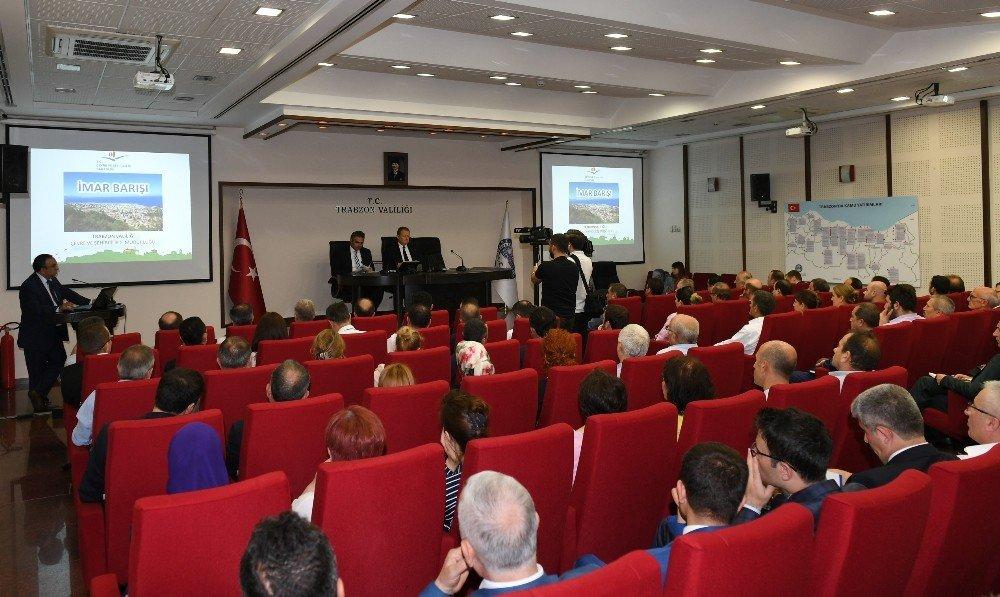 Trabzon'da 'İmar Barışı' toplantısı