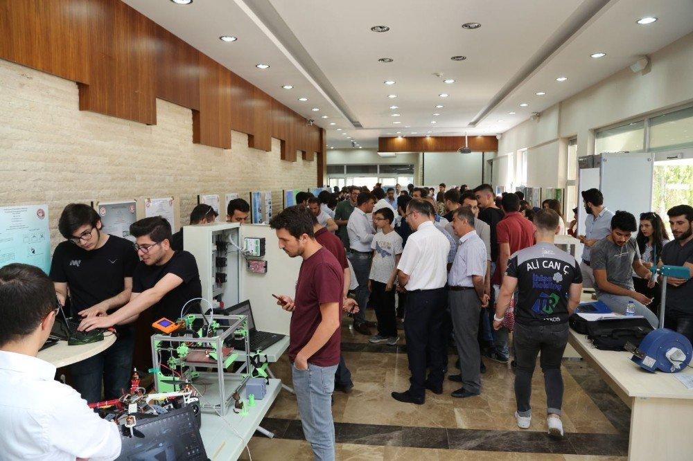 Isparta'ya yeni kurulan üniversiteden ilk sergi