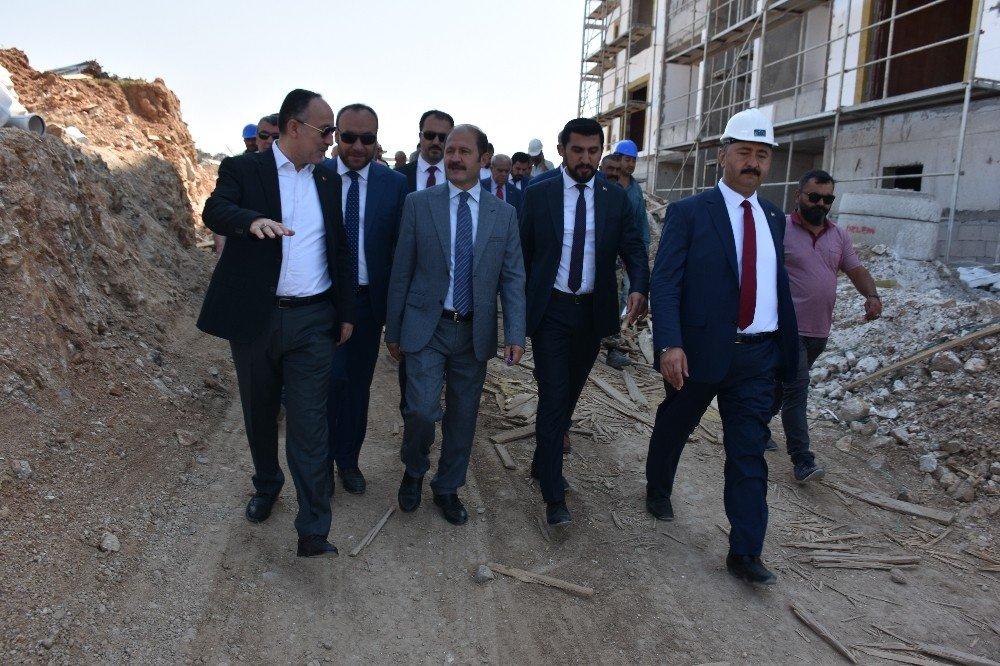 Kırıkkale'de TOKİ evlerinin tamamı emeklilerin