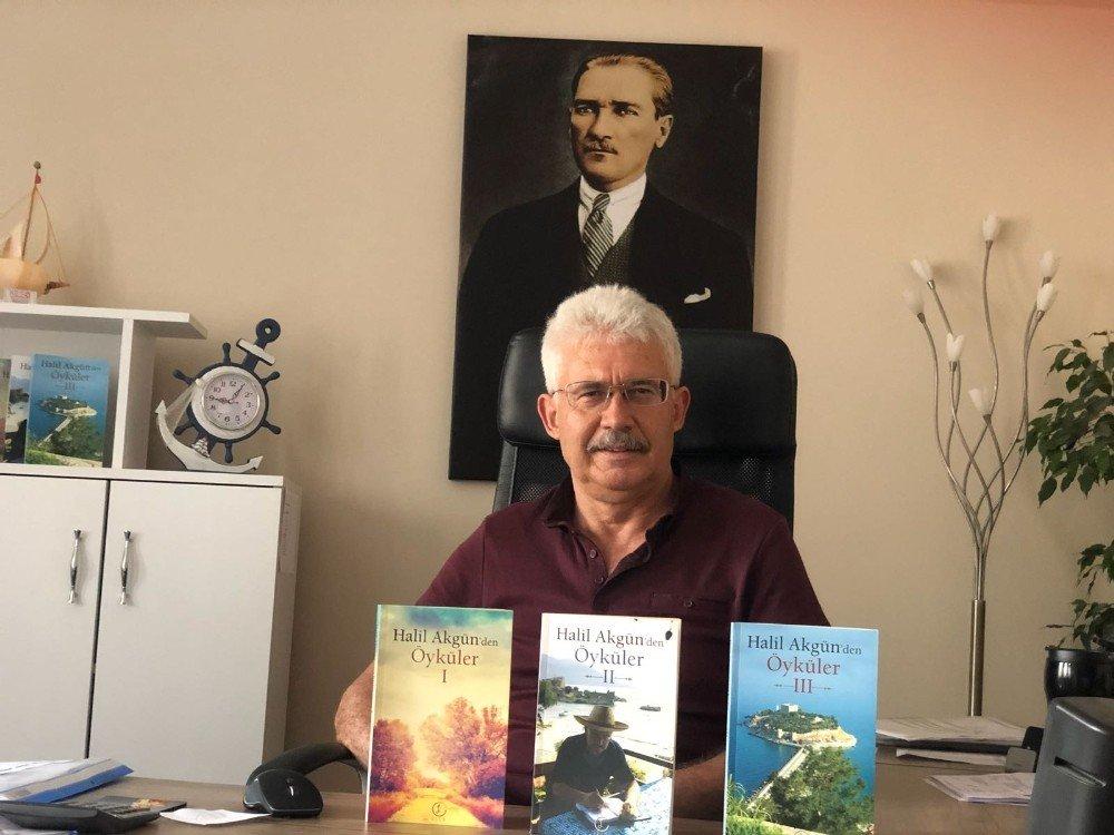 Kuşadalı mali müşavir üçüncü öykü kitabını yazdı