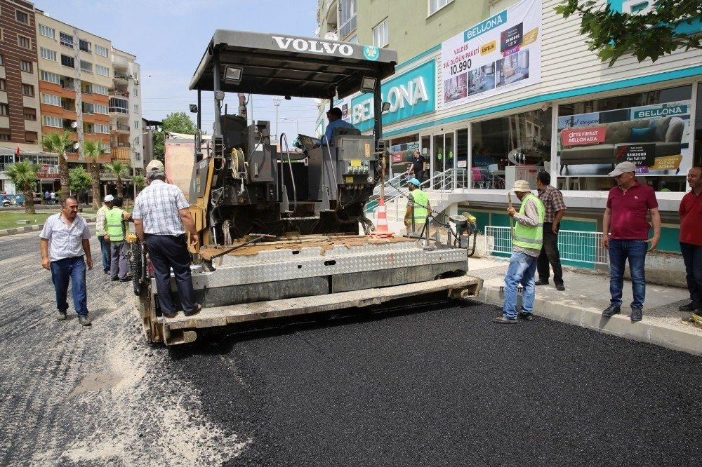 Manisa'da 19 milyon 855 bin metrekare yol asfalta kavuştu