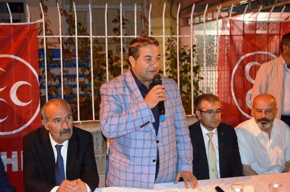 """MHP'li Fendoğlu: """"24 Haziran'da MHP'yi şaha kaldıracağız"""""""