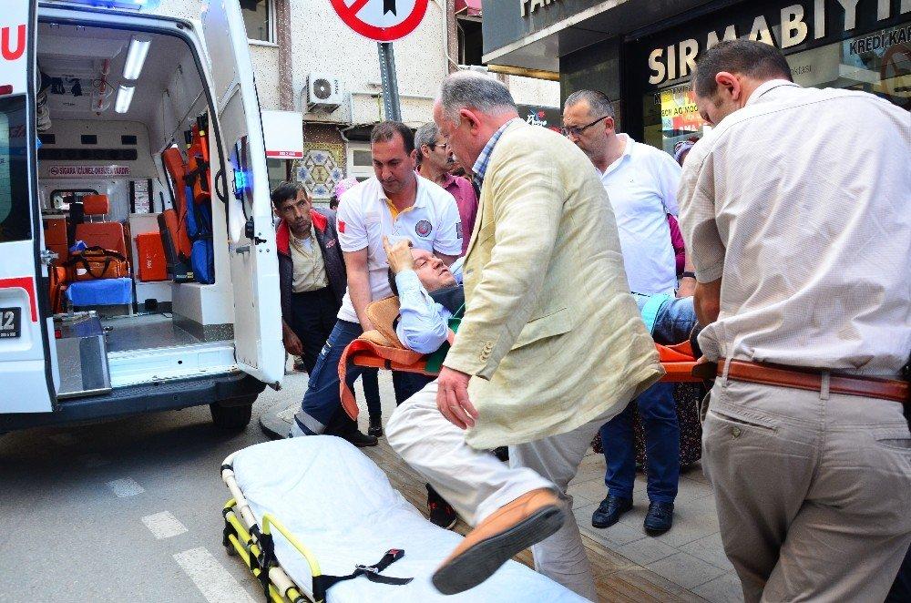 İş yeri asansörü düştü: 1 yaralı