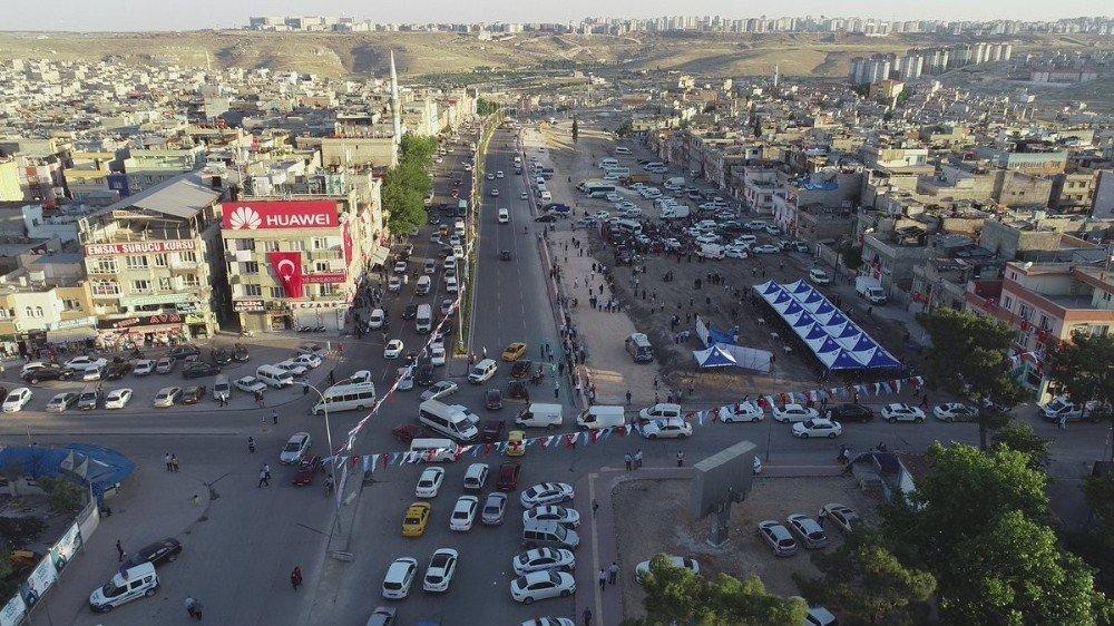 Şahinbey'de trafiği rahatlatan dev proje hizmete açıldı