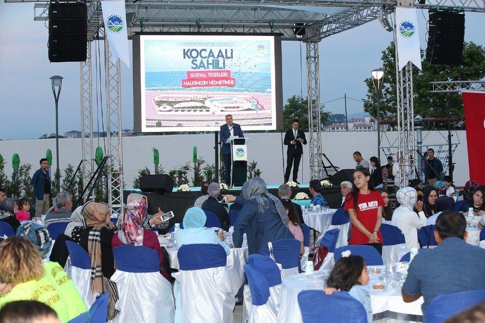 Kocaali Sahili Sosyal Tesisleri açılışı gerçekleşti
