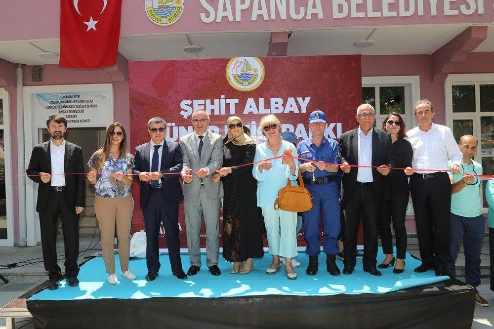 Şehit Albay Güner Ekici Parkı hizmete açıldı