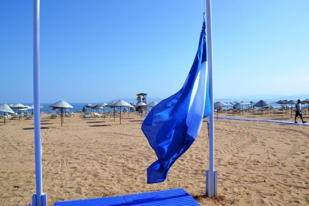 Balıkesir plajlarına 5 mavi bayrak