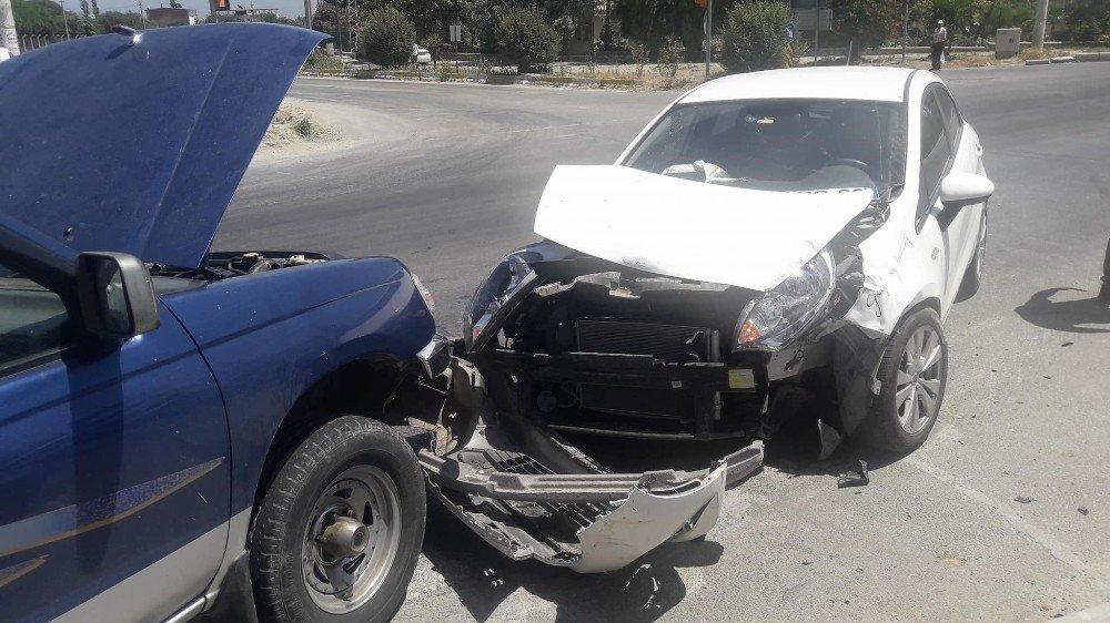 Söke'de kaza ucuz atlatıldı