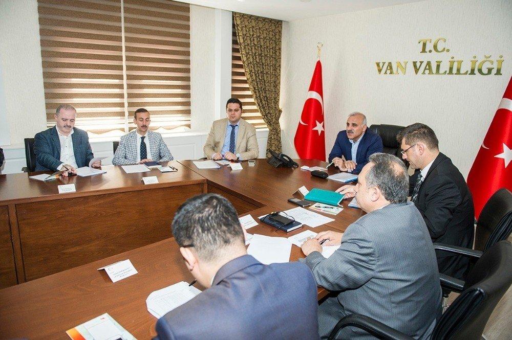 Van Tarıma Dayalı İhtisas Organize Sanayi Bölgesi toplantısı