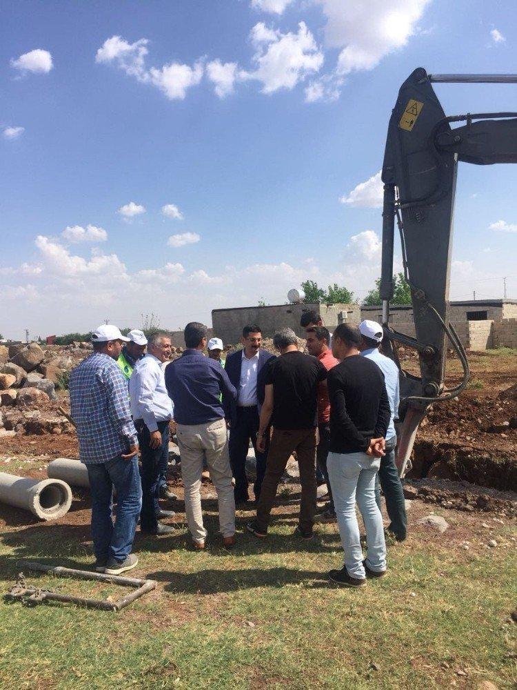 Viranşehir'de alt yapı çalışmaları sürüyor