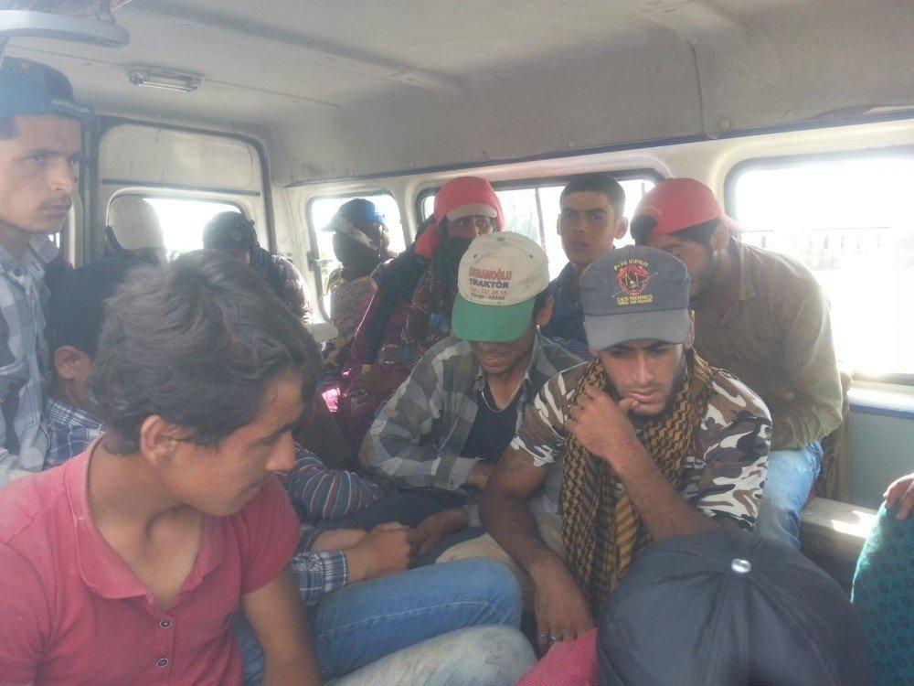 Polis kaçak göçmenlerle mücadele ediyor