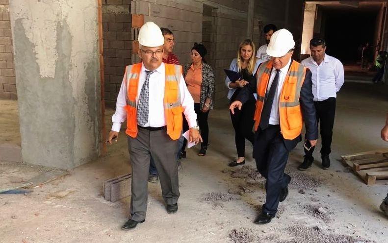 Milletvekili adayı Dr. Alkaya Bodrum Devlet Hastanesini ziyaret etti