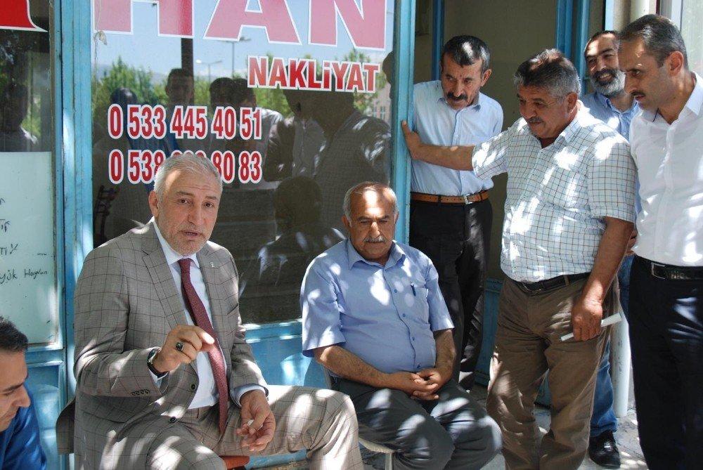 AK Partili adaylar vites artırdı
