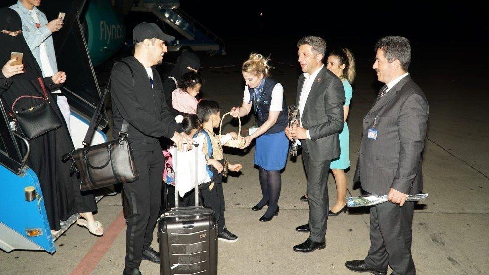 Riyad'tan Trabzon'a ilk misafirler geldi
