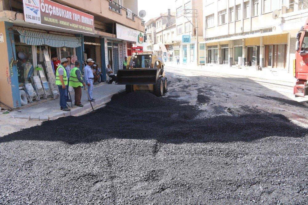 Büyükşehir Söke'de üst yapı çalışmalarını sürdürüyor