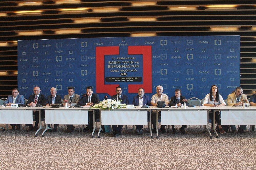 """Konya'da """"Yerel Medya Buluşmaları"""" gerçekleştirildi"""
