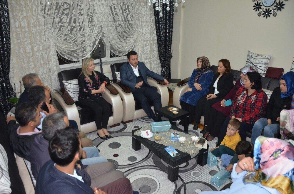 Başkan Bakıcı Ramazan ayında ev sohbetlerine devam ediyor