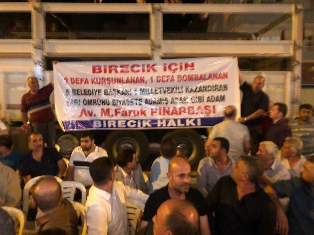 Birecik İlçe Belediye Başkanı Faruk Pınarbaşı: