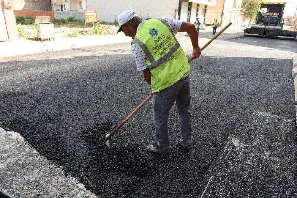 Karacabey'de altyapı seferberliği