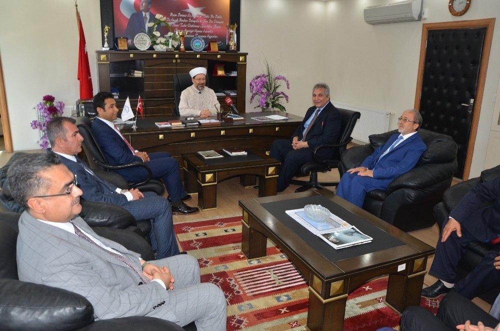 """Diyanet İşleri Başkanı Erbaş: """"4-6 yaş grubu Kur'an kurslarını çok önemsiyoruz"""""""