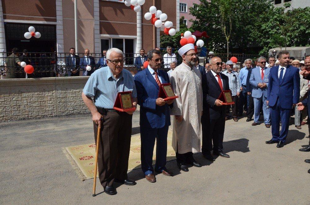 Diyanet İşleri Başkanı Erbaş, Fatsa'da 4-6 yaş Kur'an kursunun açılışını gerçekleştirdi