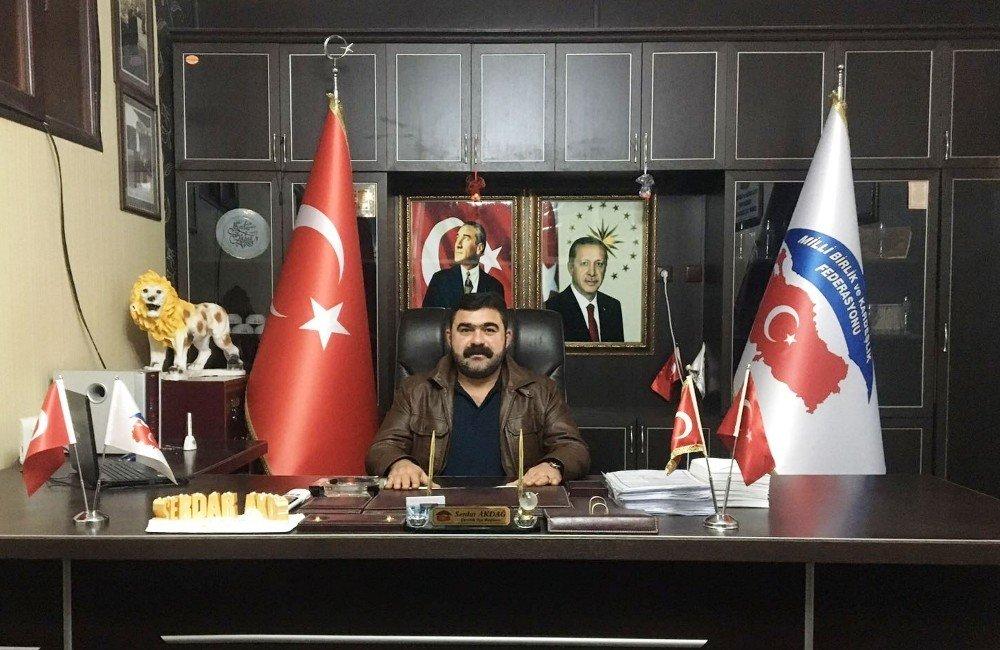 Mili Birlik ve Kardeşlik Federasyonundan Cumhur İttifakına destek