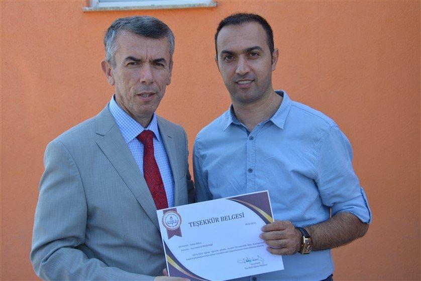 Edremit'te 58 öğrenci eğitime kazandırıldı