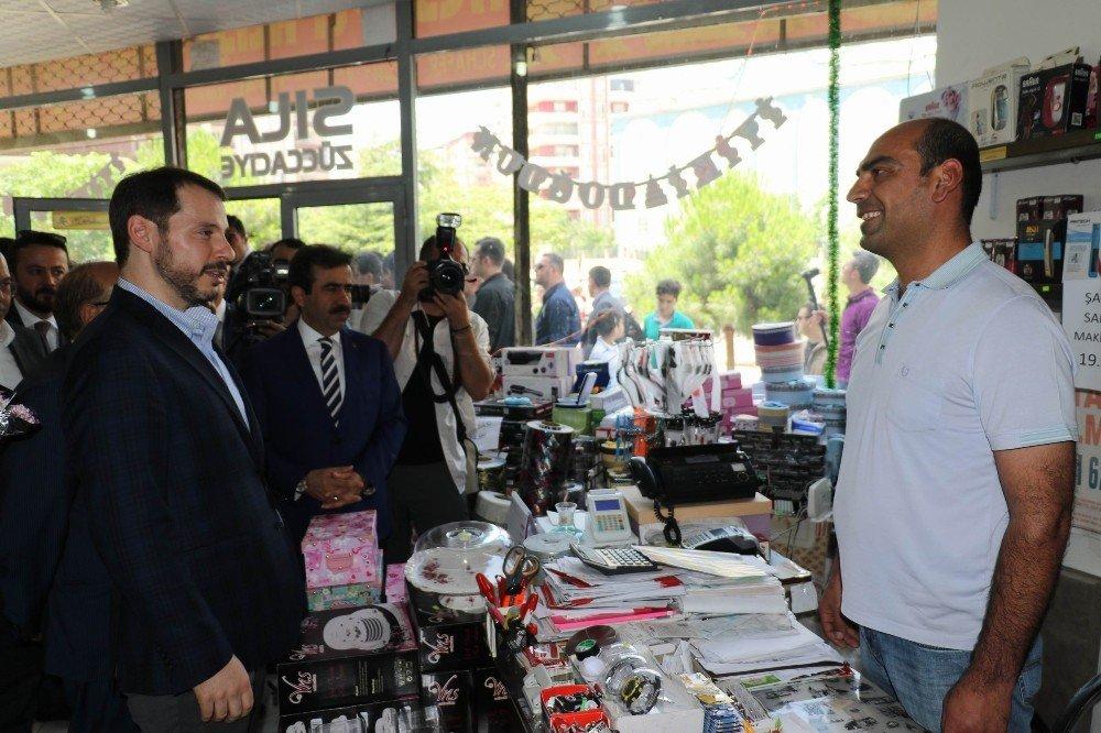 Bakan Albayrak Diyarbakır'da