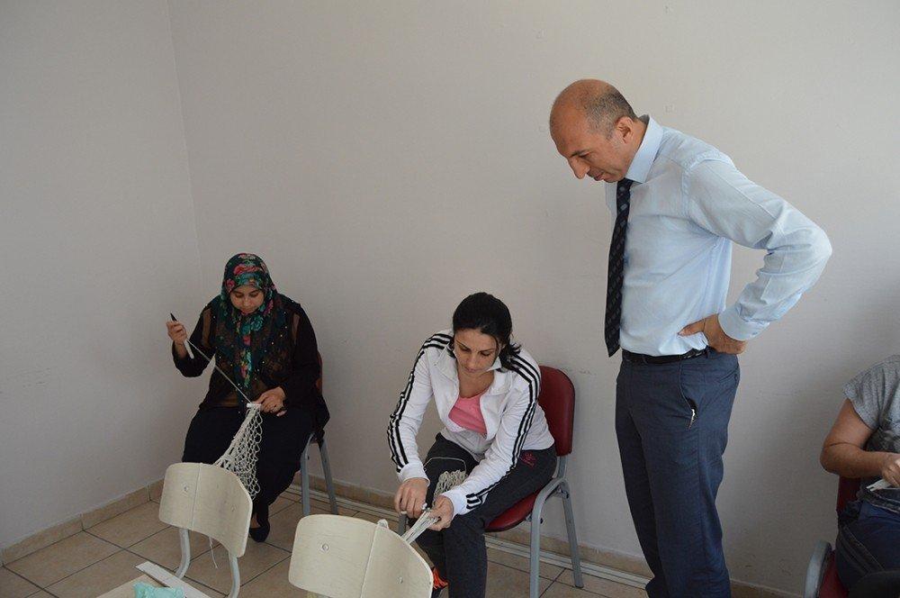 Erdek'te, file yapımı kursu başladı